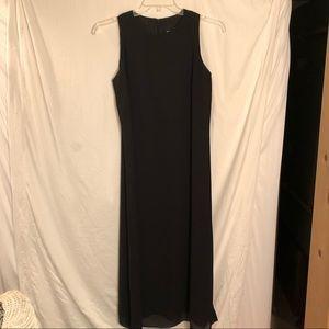 Positive Attitude Black Sheath Dress